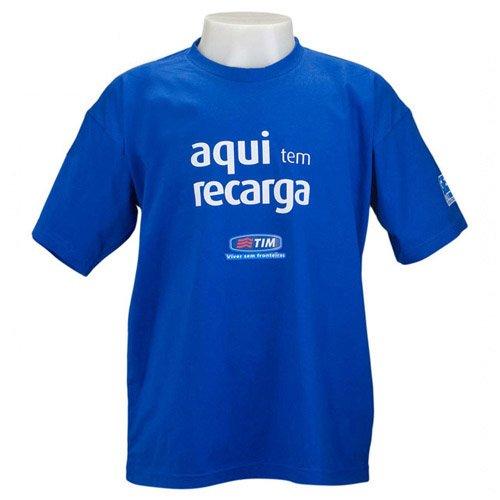 Camiseta de Malha Personalizada 3c0d3b32fbec1