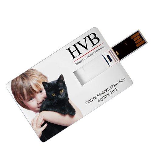 Impressão Personalização UV Digital em Pen Cards