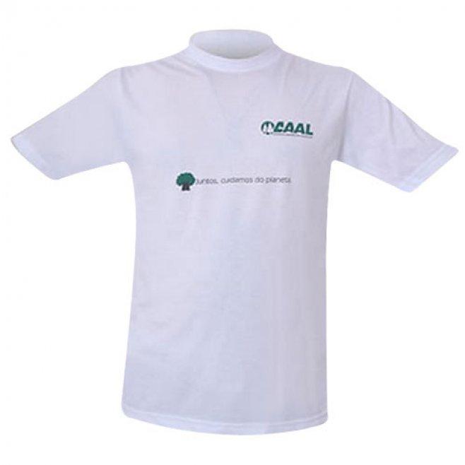 6fcfd244d8 Camiseta Branca Promocional